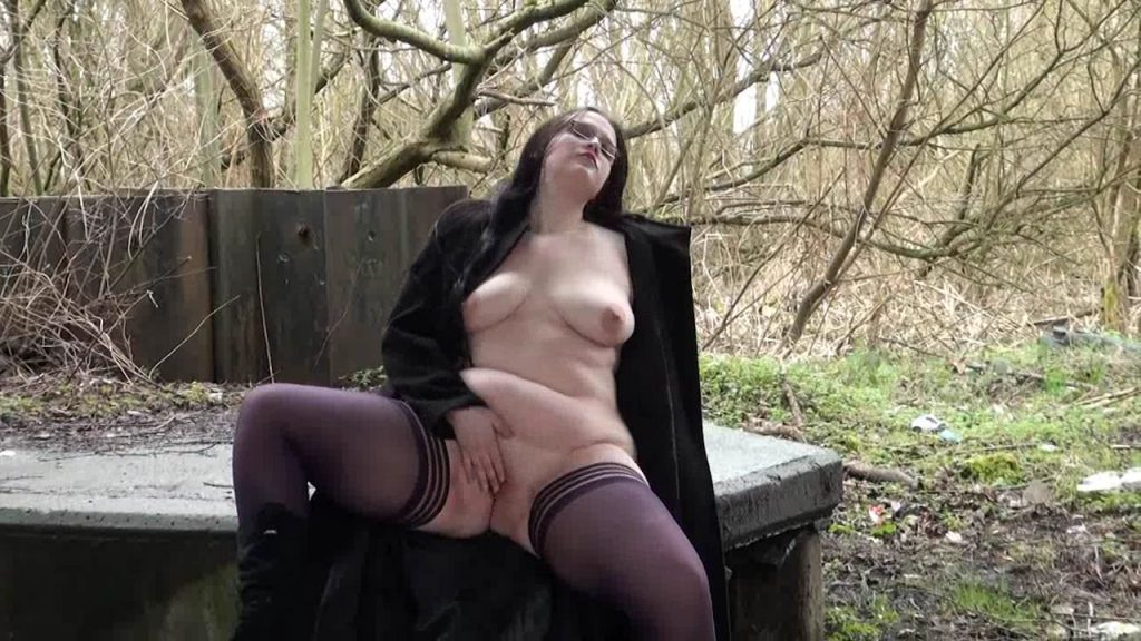 German Teen Girl Masturbates